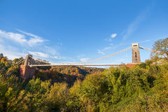 Clifton Suspension Bridge Photographie stock