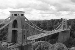 Clifton Suspension Bridge Royalty-vrije Stock Afbeeldingen