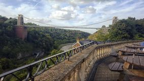 Clifton Suspension Bridge Imagens de Stock Royalty Free