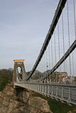 Clifton suspension bridge Royalty Free Stock Photography
