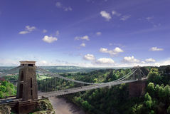 Clifton Suspension Bridge. Stock Image