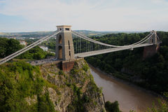 Clifton Suspension Bridge Stockfotos