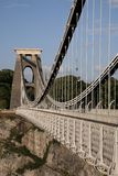 Clifton Suspension Bridge, Bristol Stock Image