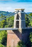 Clifton Suspension Bridge, Bristol, Avon, Inglaterra, Reino Unido Fotografía de archivo