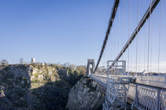 Clifton Suspension Bridge, Bristol UK Stock Photography