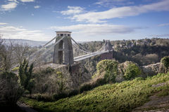 Clifton Suspension Bridge, Bristol UK Royalty Free Stock Photos