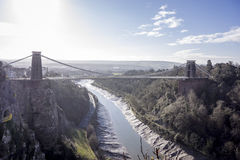 Clifton Suspension Bridge, Bristol UK Royalty Free Stock Photography