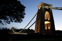 Clifton Suspension Bridge by Brunel, Stock Image
