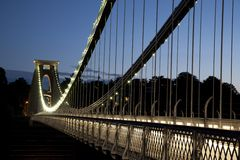Clifton Suspension Bridge by Brunel,  Stock Photos