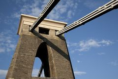 Clifton Suspension Bridge Structure Royalty Free Stock Images