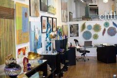 Clifton sztuki galerii sklepu Szklany wnętrze Zdjęcie Royalty Free