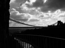 Clifton zawieszenia most Obrazy Stock