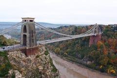 Clifton zawieszenia most Zdjęcie Royalty Free