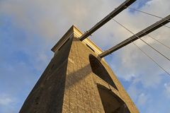 Clifton zawieszenia most zdjęcia royalty free