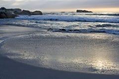 Cliftons 3. Strand nahe Kapstadt Lizenzfreies Stockbild
