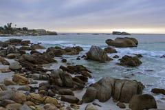 Cliftons 4. Strand nahe Kapstadt Stockfotos