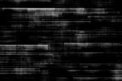 Clignotement réaliste de fond noir et blanc, signal analogue du vintage TV avec la mauvaise interférence, fond statique de bruit Photographie stock