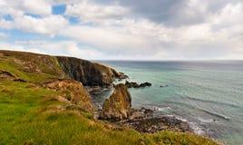 Cliifs em Ireland Imagem de Stock Royalty Free