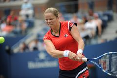 Clijsters kim at US Open 2009 (62) Stock Photography