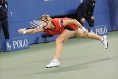 Clijsters Sieger von US öffnen 2009 (32) Stockfoto