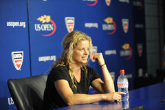 Clijsters at US Open 2010 (14) Stock Photography