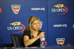 Clijsters at US Open 2010 (2) Stock Photos