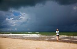 Clima de tempestade Imagem de Stock Royalty Free