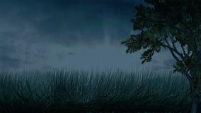 Clima de tempestade ilustração do vetor
