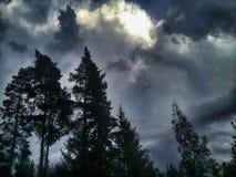 Clima de tempestade Foto de Stock Royalty Free