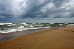 Clima de tempestade Fotos de Stock