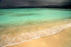 Clima de tempestade no paraíso Foto de Stock
