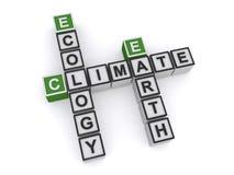 Clima, ecologia e terra fotografie stock libere da diritti