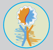 Clima logo Stock Photo