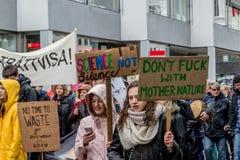 Clima marzo Malmö del ` s della gente immagine stock libera da diritti
