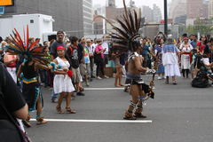 Clima marzo NYC 2014 Foto de archivo libre de regalías