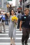 Clima marzo NYC 2014 Imágenes de archivo libres de regalías