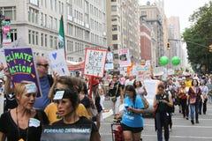 Clima marzo NYC 2014 Foto de archivo