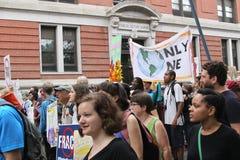 Clima marzo NYC 2014 Immagini Stock Libere da Diritti