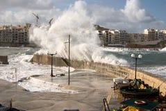Clima tempestuoso fotografía de archivo