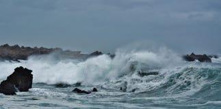 Clima tempestuoso Fotografía de archivo libre de regalías