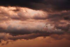 Clima tempestuoso de Kansas foto de archivo libre de regalías