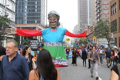 Climat mars NYC 2014 Photos stock