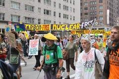 Climat mars NYC 2014 photo stock