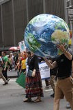 Climat mars NYC 2014 image stock