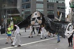 Climat mars NYC 2014 Photographie stock libre de droits