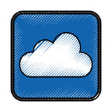 Climate application isolated icon Royalty Free Stock Image