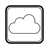 Climate application isolated icon Royalty Free Stock Photo
