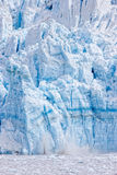 Climate change. In action - ice calving off of Hubbard Glacier in Alaska, viewed from Cruise ship stock images