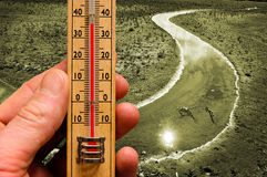 Climate change background royalty free stock images