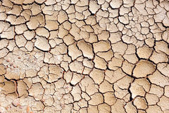 Climate change, drought, dry land Royalty Free Stock Photography